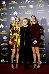 December 3, 2018 - Paris, France, France - Ada Hegerberg  - leur mere et Andrine Hegerberg (Credit Image: © Panoramic via ZUMA Press)