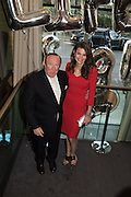 ANDREW NEIL; OLIVIA COLE, Spectator Life - 3rd birthday party. Belgraves Hotel, 20 Chesham Place, London, SW1X 8HQ, 31 March 2015