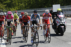 May 13, 2018 - Gran Sass D'Italia, ITALY - Belgian Tim Wellens of Lotto Soudal rides the stage 9 of the 101st edition of the Giro D'Italia cycling tour, 225km from Pesco Sannita to Gran Sasso d'Italia, Italy, Sunday 13 May 2018...BELGA PHOTO YUZURU SUNADA FRANCE OUT (Credit Image: © Yuzuru Sunada/Belga via ZUMA Press)