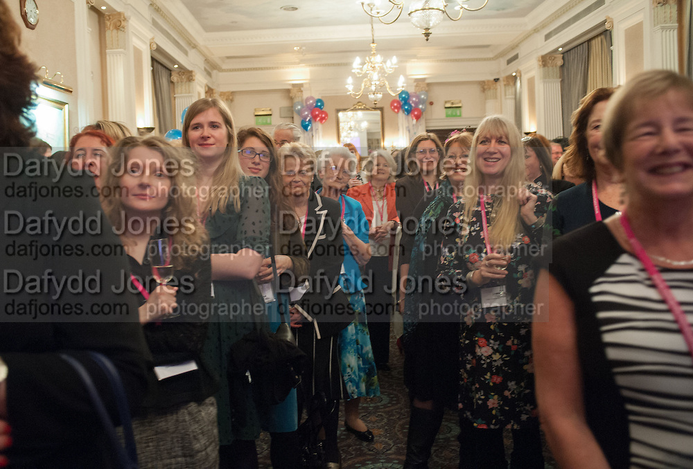 Romantic Novelists Association The RoNas Awards - RICHARD MADELEY & JUDY FINNIGAN - ballroom of the RAF Club, 128 Piccadilly, London. 26 February 2013