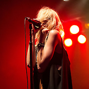 Taylor Momsen, singer of The Pretty Reckless at Rocklahoma in Pryor Oklahoma.