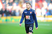 AFC Bournemouth midfielder Eunan O'Kane before the Barclays Premier League match between Bournemouth and Arsenal at the Goldsands Stadium, Bournemouth, England on 7 February 2016. Photo by Graham Hunt.