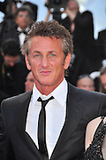 20.MAY.2011. CANNES<br /> <br /> SEAN PENN ON THE RED CARPET FOR MOVIE THIS MUST BE THE PLACE PREMIERE AT THE 64TH CANNES INTERNATIONAL FILM FESTIVAL 2011 IN CANNES, FRANCE<br /> <br /> BYLINE: EDBIMAGEARCHIVE.COM<br /> <br /> *THIS IMAGE IS STRICTLY FOR UK NEWSPAPERS AND MAGAZINES ONLY*<br /> *FOR WORLD WIDE SALES AND WEB USE PLEASE CONTACT EDBIMAGEARCHIVE - 0208 954 5968*