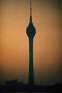 The Lotus Tower at sunrise, Colombo, Sri Lanka, Asia