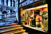 Emilio Ceccato. Historic and traditional shop for all Gondoliers to buy uniform.