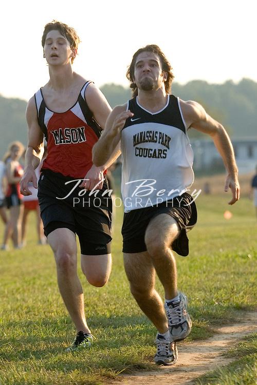 MCHS Boys Cross Country.vs Rappahannock, Clarke, George Mason, Manassas Park .September 27, 2006
