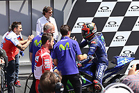 Movistar Yamaha's Spanish rider Maverick Vinales second during the Moto GP Grand Prix at the Mugello race track on June 4, 2017<br /> Photo by Danilo D'Auria.<br /> <br /> Danilo D'Auria/UK Sports Pics Ltd/Alterphotos