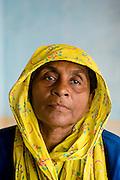 Muslim woman at Nagore. Tamil Nadu. South India.