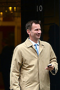 © Licensed to London News Pictures. 12/06/2012. Westminster, UK Secretary of State for Culture, Olympics, Media and Sport Jeremy Hunt. Politicians on Downing Street today 12 June 2012. Photo credit : Stephen Simpson/LNP