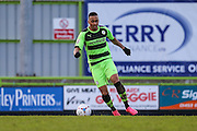 Forest Green's Keanu Marsh-Brown during the Vanarama National League match between Forest Green Rovers and Macclesfield Town at the New Lawn, Forest Green, United Kingdom on 30 January 2016. Photo by Shane Healey.