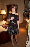 Petronella Wyatt. Book party for LAST VOYAGE OF THE VALENTINA by Santa Montefiore (Hodder & Stoughton) Asprey,  New Bond St. 12 April 2005. ONE TIME USE ONLY - DO NOT ARCHIVE  © Copyright Photograph by Dafydd Jones 66 Stockwell Park Rd. London SW9 0DA Tel 020 7733 0108 www.dafjones.com