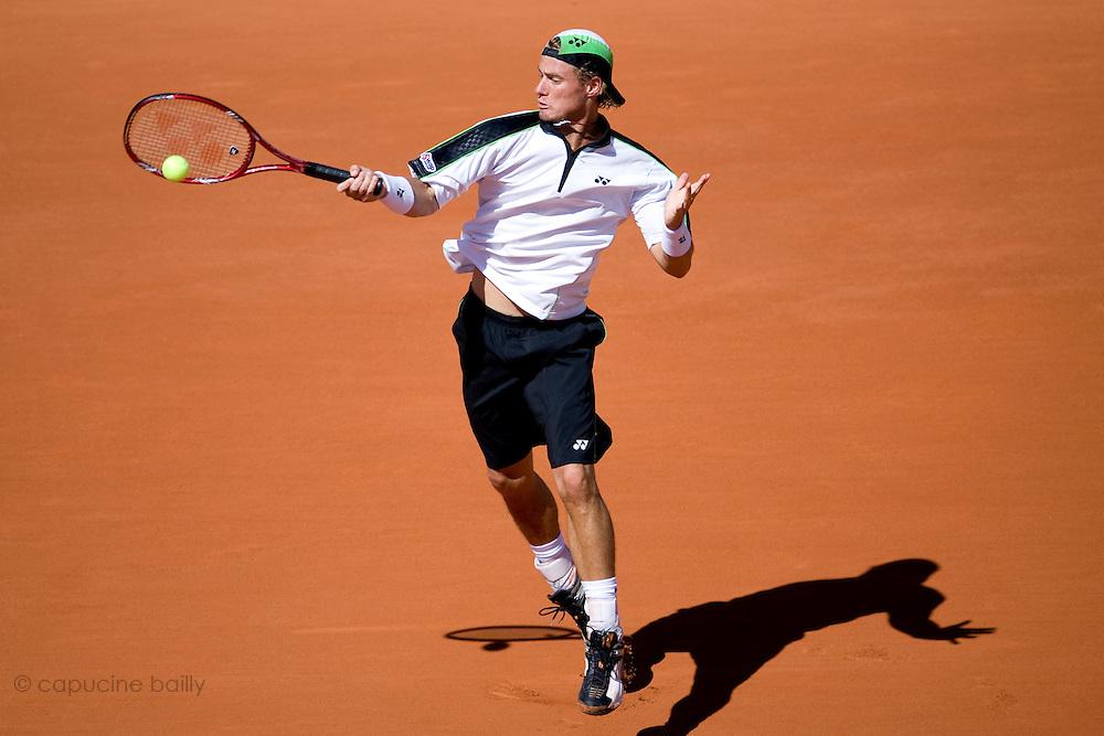 Paris, France. May 29th 2009. .Roland Garros - Tennis French Open. 3rd Round..Lleyton Hewitt against Rafael Nadal
