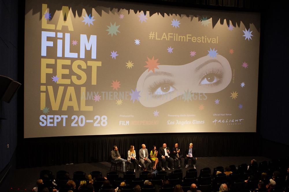 Panel, Atmosphere, Jay Holzer, Cecile Murias, Alexander Emanuele, Janet Zuccarini, Evan Funké, Gabriel Taraboulsy, and Moderator