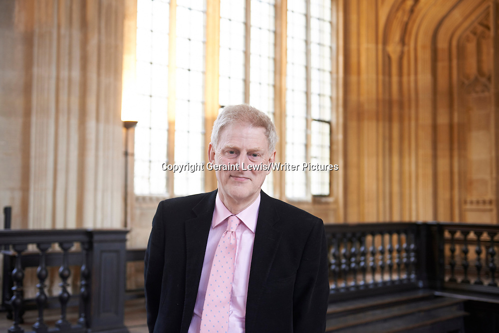 John Guy at The Oxford  Literary Festival<br /> 24th March 2013<br /> <br /> Photograph by Geraint Lewis/Writer Pictures<br /> <br /> WORLD RIGHTS