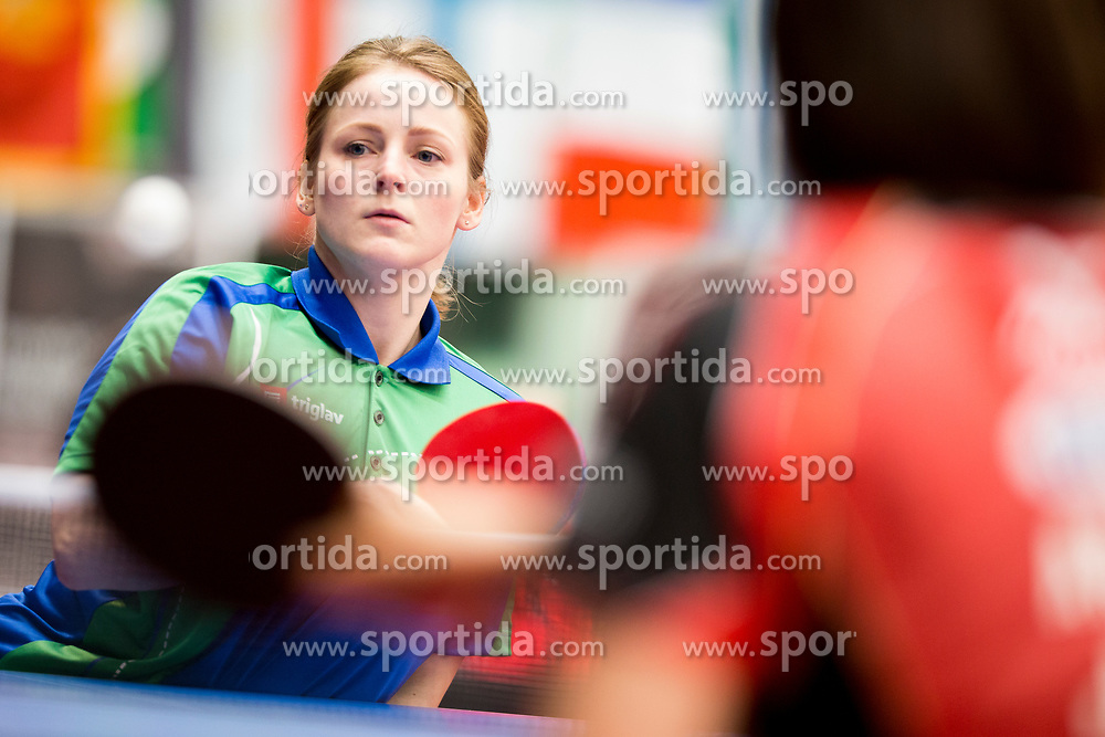 Barbara Meglic at 14th Slovenia Open - Thermana Lasko 2017 Table Tennis Championships for the Disabled Factor 40, on May 6, 2017, in Dvorana Tri Lilije, Lasko, Slovenia. Photo by Urban Urbanc / Sportida