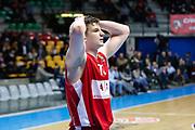 Delusione Gudaitis Arturas, EA7 EMPORIO ARMANI OLIMPIA MILANO vs VALENCIA BASKET, EuroLeague 2017/2018, PlalaDesio Desio 22 marzo 2018 FOTO: Bertani/Ciamillo