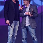 NLD/Amsterdam/20111207- Radiobitches Awards 2011, winnaar Bitches Bastard 2011 Jeroen van Inkel