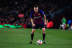 February 6, 2019 - Barcelona, BARCELONA, Spain - 18 Jordi Alba of FC Barcelona during the semi-final first leg of Spanish King Cup / Copa del Rey football match between FC Barcelona and Real Madrid on 04 of February of 2019 at Camp Nou stadium in Barcelona, Spain (Credit Image: © AFP7 via ZUMA Wire)