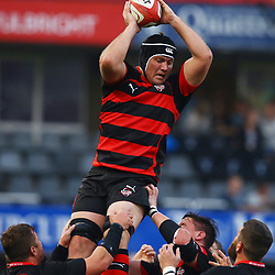 DURBAN, SOUTH AFRICA - AUGUST 15: Steven Sykes of the EP Kings during the Absa Currie Cup match between Cell C Sharks and Eastern Province Kings at Growthpoint Kings Park on August 15, 2015 in Durban, South Africa. (Photo by Steve Haag/Gallo Images)