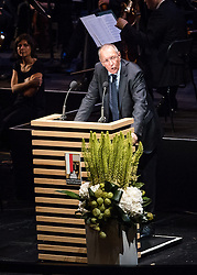 28.07.2016, Festspielhaus, Salzburg, AUT, Salzburger Festspiele, Eroeffnungsakt, im Bild Festredner Kulturphilosoph Konrad Paul Liessmann // Cultural philosopher Konrad Paul Liessmann during the Opening Ceremony of the Salzburg Festival, it takes place from 22 July to 31 August 2016, at the Festspielhaus in Salzburg, Austria on 2016/07/28. EXPA Pictures © 2016, PhotoCredit: EXPA/ JFK