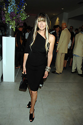 GELA TAYLOR at a reception hosted by Vogue magazine to launch photographer Tim Walker's book 'Pictures' sponsored by Nude, held at The Design Museum, Shad Thames, London SE1 on 8th May 2008.<br />