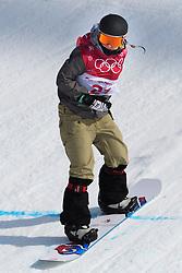 February 19, 2018 - Pyeongchang, SOUTH KOREA - 180219 Carla Somaini of Switzerland competes in the Women's Big Air Qualification during day ten of the 2018 Winter Olympics on February 19, 2018 in Pyeongchang..Photo: Carl Sandin / BILDBYRÃ…N / kod CS / 57999_306 (Credit Image: © Carl Sandin/Bildbyran via ZUMA Press)