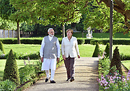 Angela Merkel Welcomes  Indian PM Modi
