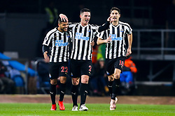 Ciaran Clark of Newcastle United celebrates with teammates after scoring a goal to make it 2-0 - Mandatory by-line: Robbie Stephenson/JMP - 26/11/2018 - FOOTBALL - Turf Moor - Burnley, England - Burnley v Newcastle United - Premier League