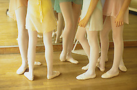 June 1994, Paris, France --- Ballerinas' Legs ---