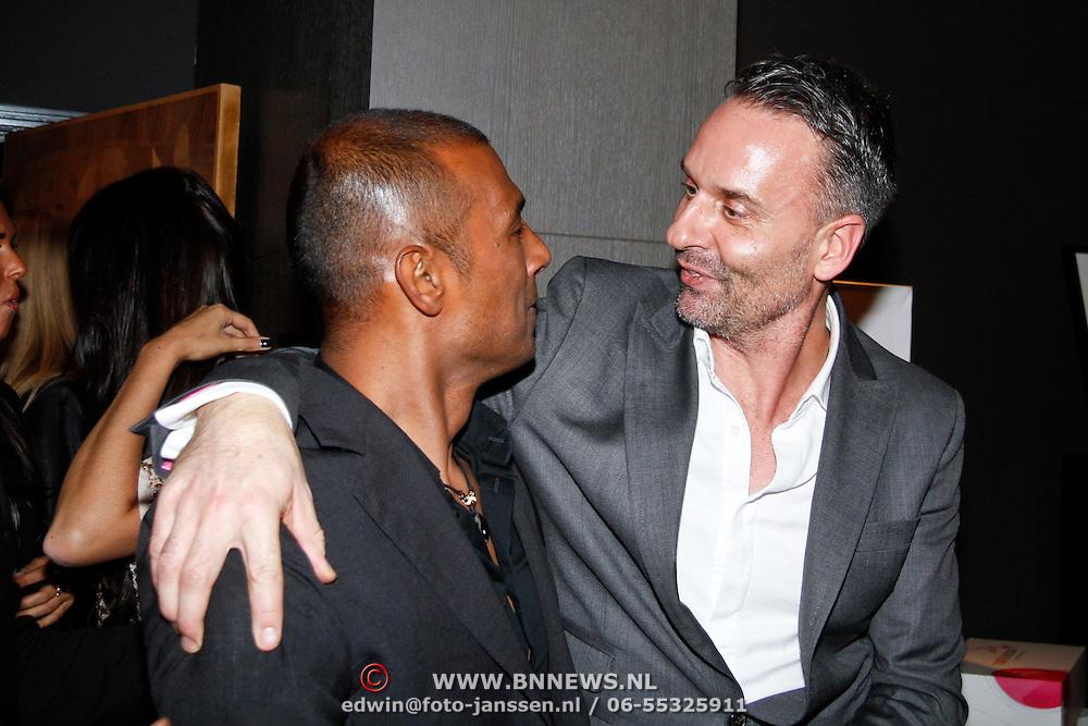 NLD/Huizen/20111223-  Lancering LAF Femme, Eric Kuster in gesprek met Aron Winter