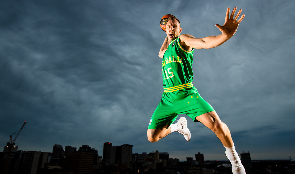 15/11/2017 Portrait of Australian Boomer Mitch Creek for a preview of the first qualification game for the FIBA world cup to be played in Adelaide on the 27th of November against Japan..  . Kelly Barnes/The Australian