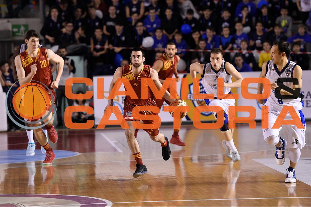Anthony Raffa<br /> Roma Gas &amp; Power Roma - Unicusano Roma<br /> Campionato Basket LNP 2016/2017<br /> Roma 12/03/2017<br /> Foto Ciamillo-Castoria