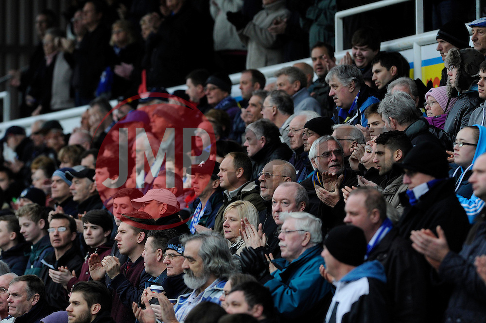 - Photo mandatory by-line: Dougie Allward/JMP - Tel: Mobile: 07966 386802 07/12/2013 - SPORT - Football - Bristol - Memorial Stadium - Bristol Rovers v Crawley Town - FA Cup - Second Round