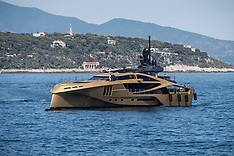 Monaco: Khalilah Super Yacht - 5 July 2017
