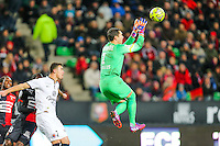 Remy VERCOUTRE  - 25.01.2015 - Rennes / Caen  - 22eme journee de Ligue1<br /> Photo : Vincent Michel / Icon Sport *** Local Caption ***