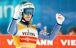 06.01.2015, Paul Ausserleitner Schanze, Bischofshofen, AUT, FIS Ski Sprung Weltcup, 63. Vierschanzentournee, Finale, im Bild Tagessieger Michael Hayboeck (AUT) // Winner Michael Hayboeck of Austria during Final Jump of 63rd Four Hills <br /> Tournament of FIS Ski Jumping World Cup at the Paul Ausserleitner Schanze, Bischofshofen, Austria on 2015/01/06. EXPA Pictures &copy; 2015, PhotoCredit: EXPA/ JFK
