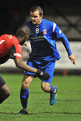 James Osborne Captain Redditch United, Histon v Redditch United, Glassworld Stadium,  Southern League Premier Division, Saturday 12th December 2015