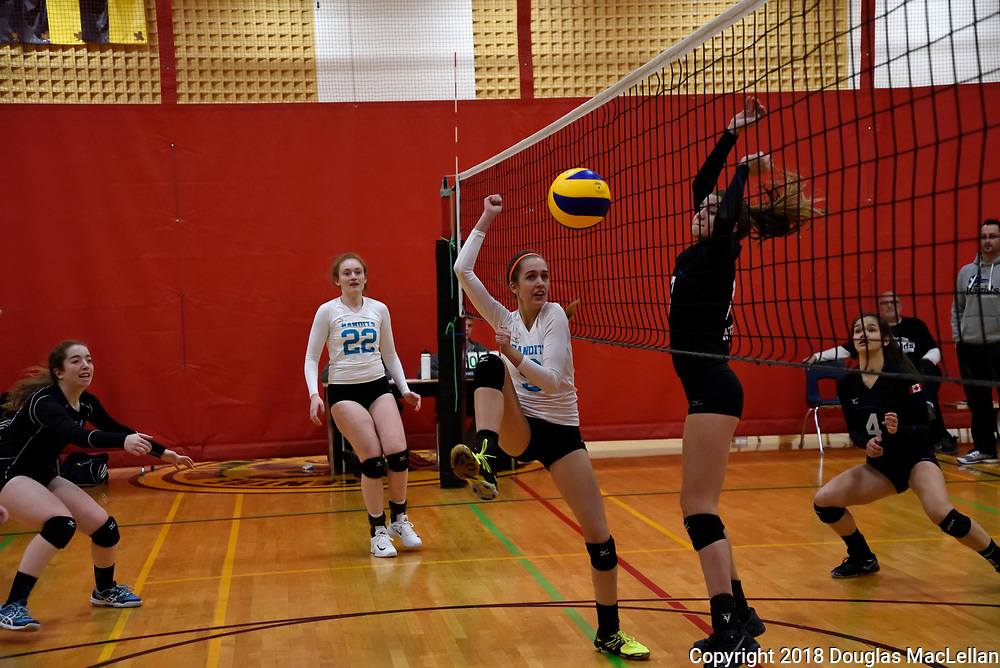 South County Bandits U17 Black volleyball team travel to Fergus, Ontario to participate in the McGregor Cup. The team is seeded fifth going into the Championship A tournament and finishes fourth after losing the bronze medal game.