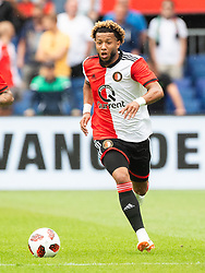 Tonny Vilhena of Feyenoord during the Pre-season Friendly match between Feyenoord Rotterdam and Levante UD at the Kuip on July 29, 2018 in Rotterdam, The Netherlands