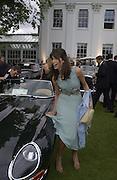 Lisa B. Louis Vuitton Concours d'Elegance, Hurlingham.  8 June 2002.  Copyright Photograph by Dafydd Jones 66 Stockwell Park Rd. London SW9 0DA Tel 020 7733 0108 www.dafjones.com