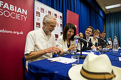 © Licensed to London News Pictures. 06/06/2015. London, UK. Current Labour Leadership candidates attend a debate at the Fabien Society Conference, held at the institute of Education in London. Photo credit: Ben Cawthra/LNP
