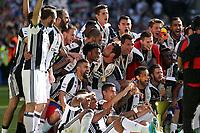 21.05.2017 - Torino Juventus Stadium -  Festa e premiazione scudetto 2016-17  nella  foto: l'esultanza dei giocatori della Juventus