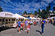 Bigfork Arts Festival in Bigfork, Montana, USA