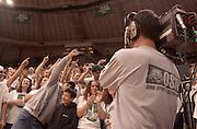 15165The ?O-ZONE? during Basketball VS. Kent State 2002: Photos John McGann