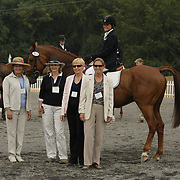 Anisa Tracy (USA) and Tigger VIII at the 2007 CN North American Junior and Young Riders' Championships held at the Virginia Horse Center in Lexington, Virginia