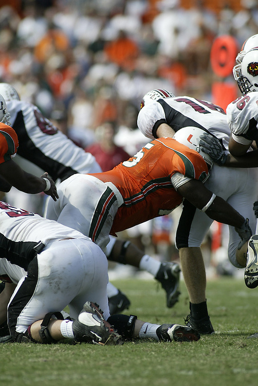 2010 Miami Hurricanes Pro Bowl Photo