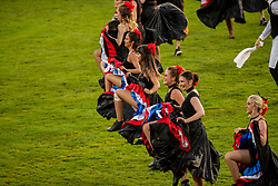 Opening ceremony, French Can Can<br /> CHIO Aachen 2019<br /> Weltfest des Pferdesports<br /> © Hippo Foto - Dirk Caremans<br /> Opening ceremony, French Can Can