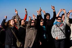 Singers from Brezice, Slovenia in San Marino, on October 13, 2009, in San Marino,  San Marino.  (Photo by Vid Ponikvar / Sportida)