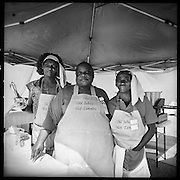 The cooks of Old School Hot Tamales were hoping to win the over all best title in the tamale cooking contest. Greenville, Mississippi