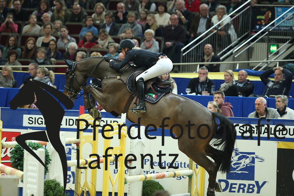 Wagers, Jana (GER), Carl<br /> Dortmund - Signal Iduna Cup 2016<br /> Grosser Preis der Bundesrepublik<br /> © www.sportfotos-lafrentz.de / Stefan Lafrentz